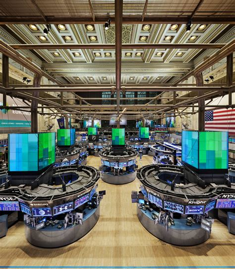 Stock Market Floor by Perkins Eastman New York Stock Exchange Next Generation