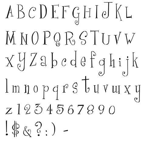 cute printable letter stencils 10 best fonts images on pinterest script fonts