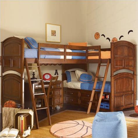 Bunk Beds With Three Beds Sleeping Solutions For Three A Room Blissfully Domestic