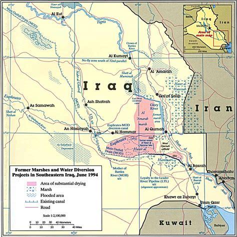 rivers in iraq map garden of has become a mess antiwar original