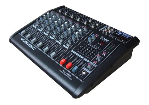 Power Mixer Q8p 8channel 8 channel 4000 watts professional power mixer lifier usb sd pa system 16 dsp ebay