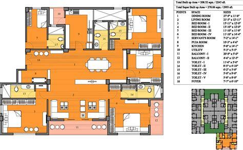 serin residency floor plan merrill merrill residency in belghoria kolkata price