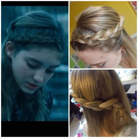hunger games hairstyles tutorial 17 best images about hunger games hair on pinterest