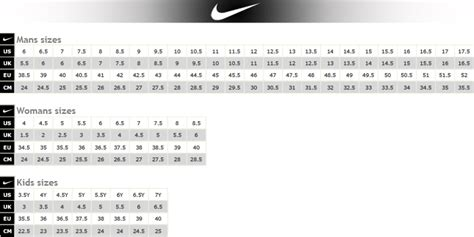 shoe size chart portugal nike hyperchase team black