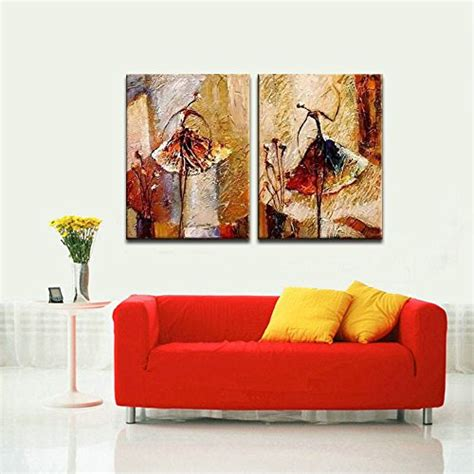 Home Decor Paintings For Sale by Wieco Ballet Dancers 2 Modern Decorative