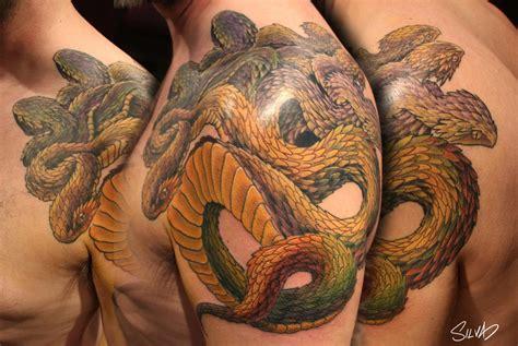 hydra tattoo custom hydra by marvin silva tattoos