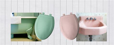 colored bathroom fixtures bemis classic colors