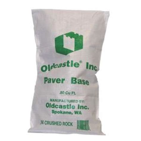 home depot gravel oldcastle 50 lb 3 4 in crushed gravel 40200015
