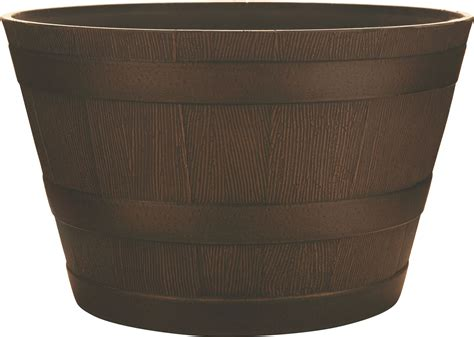 Whiskey Barrel Planter For Sale by Southern Patio Hdr Whiskey Barrel Planter Ebay