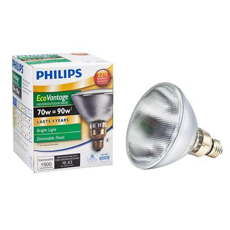 philips landscape lighting 7 watt philips 90 watt equivalent halogen par38 dimmable indoor outdoor flood light bulb