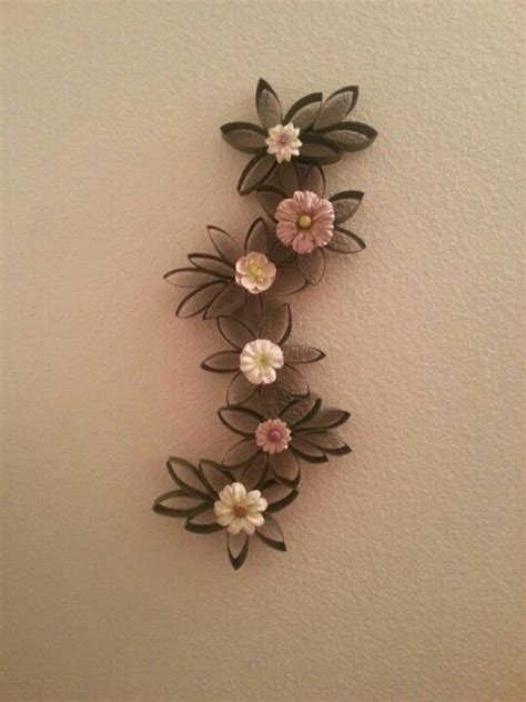 Toilet Paper Roll Flowers Craft - toilet paper roll craft arts and crafts paper
