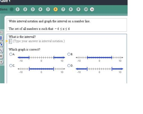 infinity interval notation write interval notation and graph the interval on