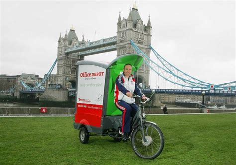 Office Depot Tracking by Office Depot Delivers By Bicycle In The Uk Bikerumor