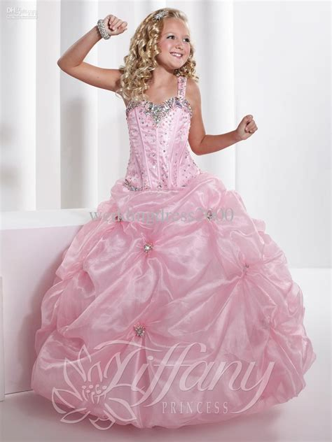 Dress Kid Pink wholesale new arrive pageant dresses for dresses for weddings evening gowns flower