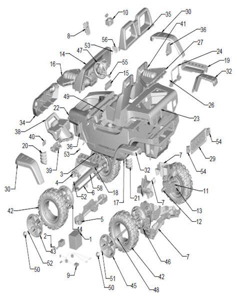 Power Wheels Jeep Hurricane Parts Power Wheels Jeep Hurricane Parts