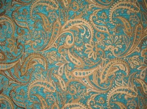 fabric by the yard a chenille upholstery marina paisley drapery fabric by the yard 57 quot wide ebay