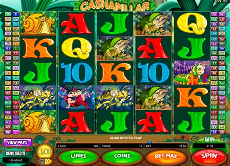 play cashapillar  slot microgaming casino slots
