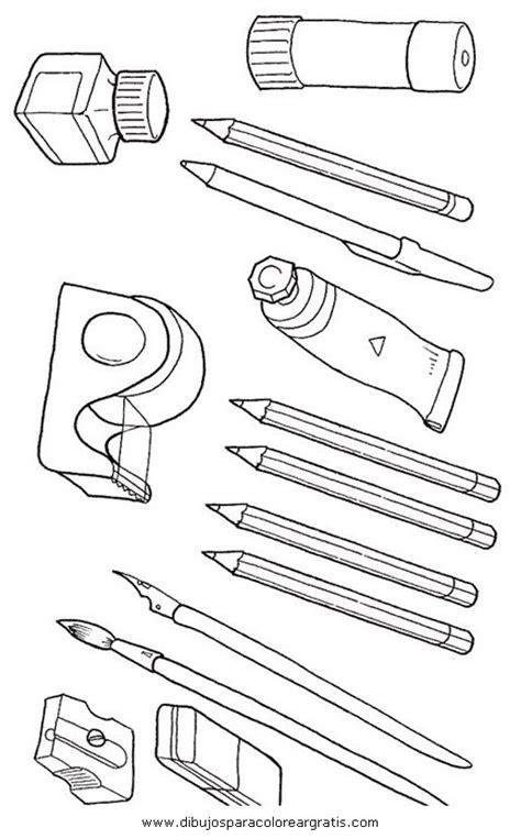 imagenes escolares para colorear e imprimir dibujo utiles escolares en la categoria mixtos diseos