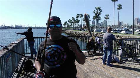 fishing long beach pier j youtube - Pier J Fishing