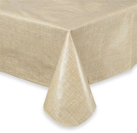 bed bath beyond tablecloths bed bath beyond monterey vinyl tablecloth shopstyle