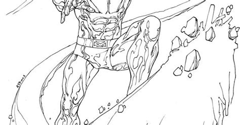 printable coloring pages iceman superheroes