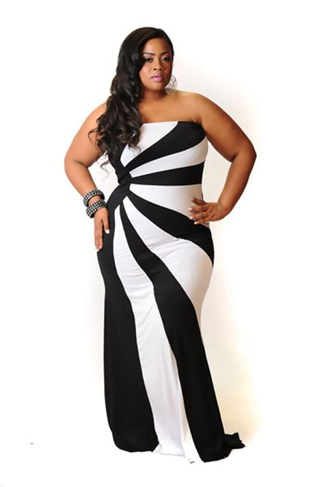 Dress Model Black White Impor 160 best images about plus size on plus size dresses closet and plus size fashion