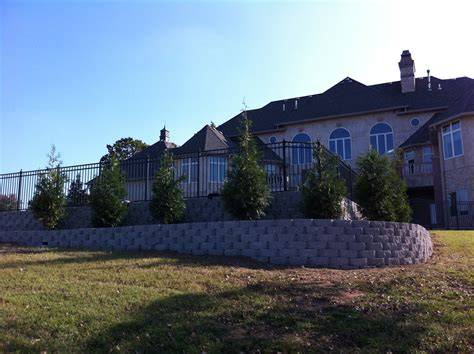 most recent landscape joe buster retaining wall vision