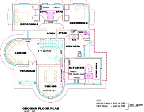 kerala home design with free floor plan amazing kerala villa plan and elevation kerala home design