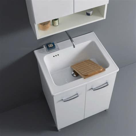 lavello lavanderia mobile bagno lavanderia 60x50 nanco con lavabo lavatoio in