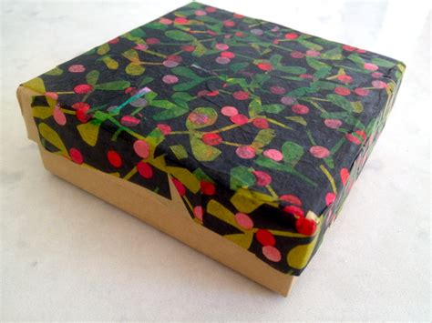 Decoupage Simple - easy decoupage gift box my kid craft