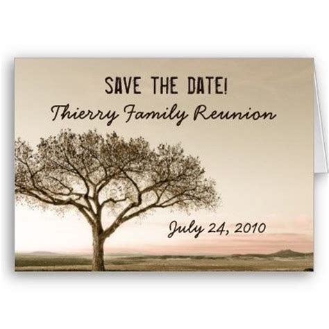 High Country Save The Date Family Reunion Card It S A Family Affair Pinterest Reunions Reunion Save The Date Templates