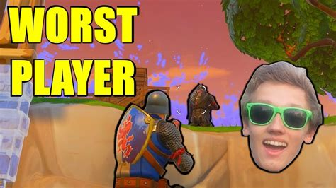 fortnite total players the worst best fortnite players