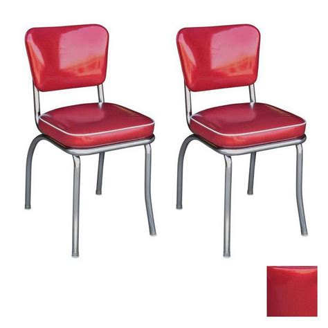 retro chrome dining chairs shop richardson seating 50 s retro chrome stackable dining