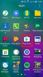where is my mobile where is the player on my samsung galaxy s7 and s7