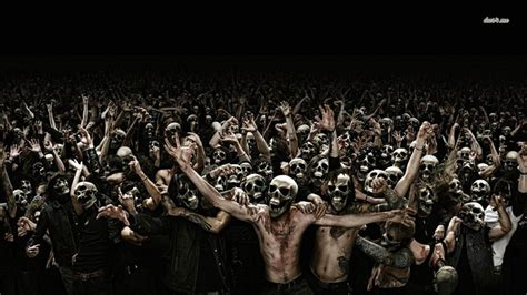 free wallpaper zombie zombie wallpaper and background 1366x768 id 482326