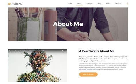 Html5 Artist artist portfolio multipage html5 website template