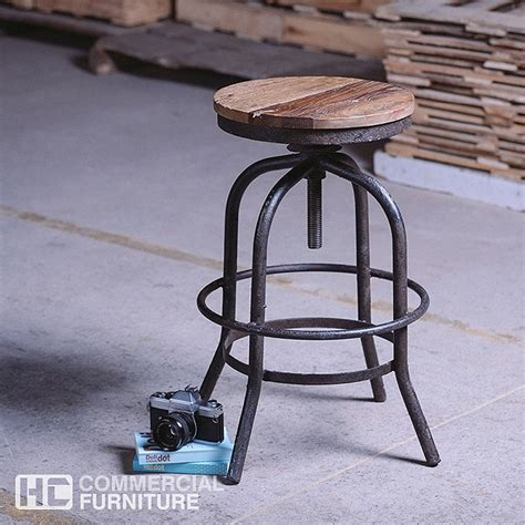 industrial stools noah industrial bar stool bs243 hccf commercial furniture