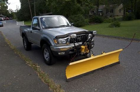Snow Plow For Toyota Tacoma Find Used 2003 Toyota Tacoma 4x4 Regular Cab With Plow