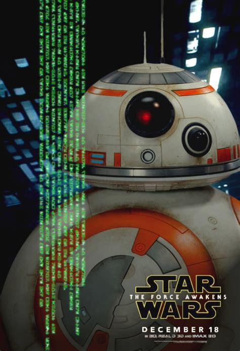 Poster A3 Wars Bb8 bb 8 was missing from those awesome new wars posters