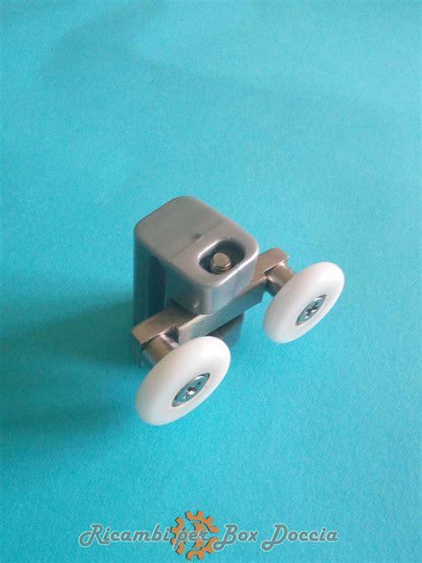 friges box doccia cuscinetto con doppia rotella per box doccia friges mod