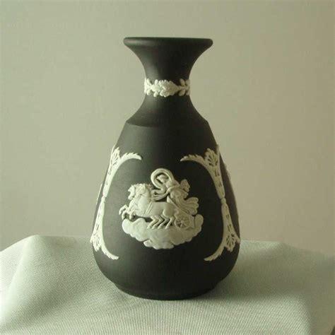 Wedgwood Black Vase by Black Wedgwood Vase