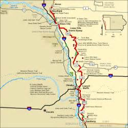 Americas Byways Loess Scenic Byway Map America S Byways
