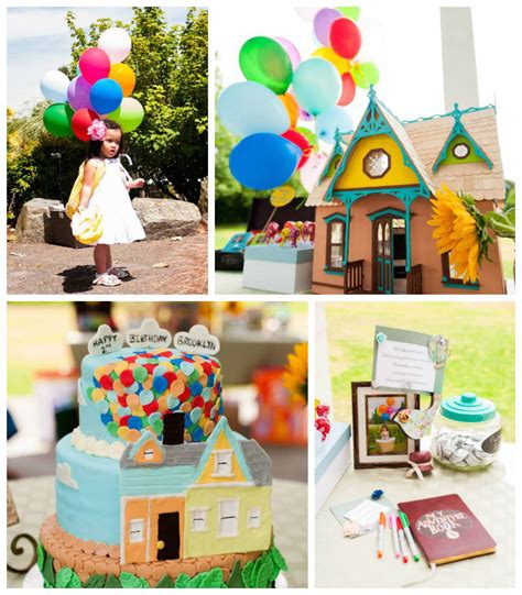 up themed birthday party kara s party ideas disney s up themed birthday party via