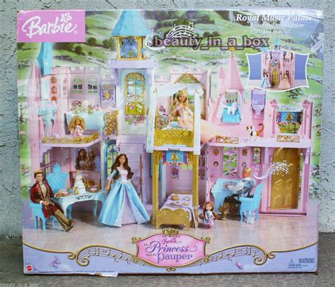 barbie castle house barbie in the princess and the pauper royal music palace by mattel barbie pinterest royal