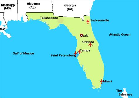map of florida airports map of florida airports pictures to pin on pinsdaddy