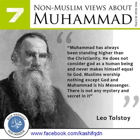 biography islam the holy prophet muhammad pbuh and leo tolstoy the