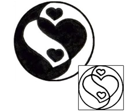 tattooed heart zing tattoo johnny yin yang tattoos