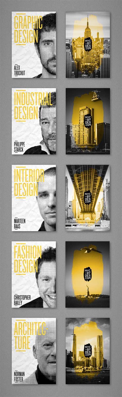 poster design new york nycxdesign new york design week on behance