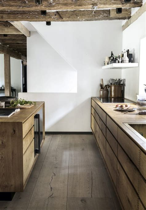 Rustic Danish House With Rough Exposed Wooden Beams   DigsDigs