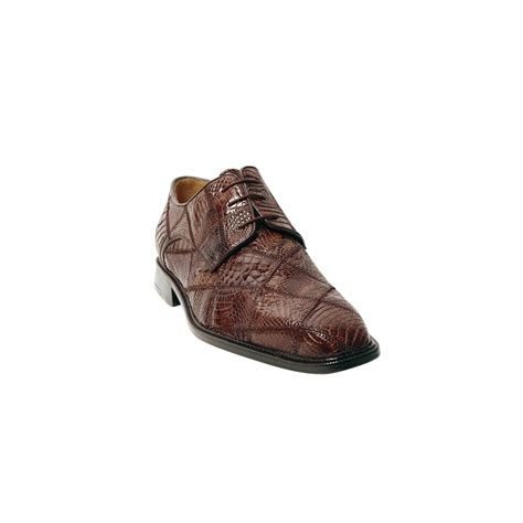 Patchwork Shoes - belvedere mario crocodile patchwork shoes brown
